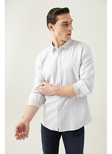 Tween Slim Fit Gömlek Vizon